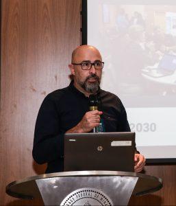 Diretor da Fundep, Martín Ravetti - lançamento das chamadas do Rota 2030