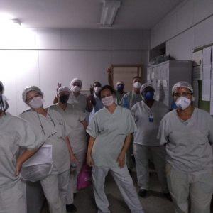 HRTN 4 - Equipe do Serviço de Higienização e Limpeza - SHL